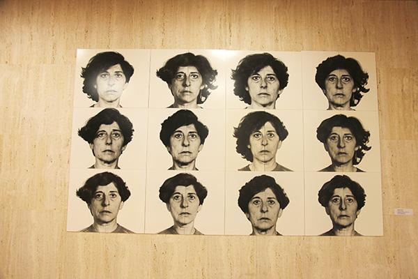 Esther Ferrer, Autorretrato en el tiempo